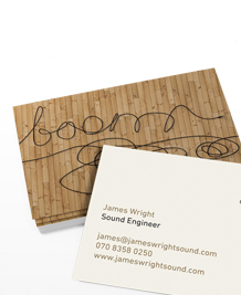 Preview image of Business Card design 'Anyone seen my cable?'