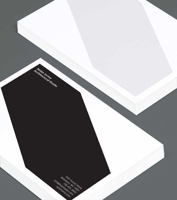 Notecard designs - Studio Style Notecard