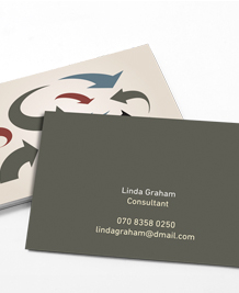 Preview image of Business Card design 'Moving Arrows'