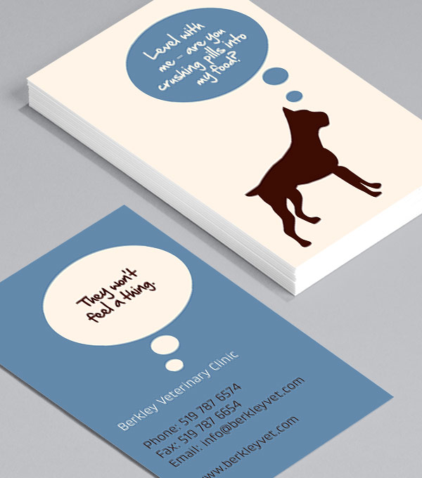 Business Card designs - Animal Thoughts
