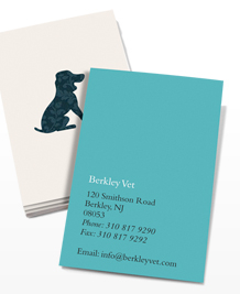 Preview image of Business Card design 'Animal Outlines'