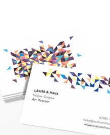 Business Card designs - Triangulate
