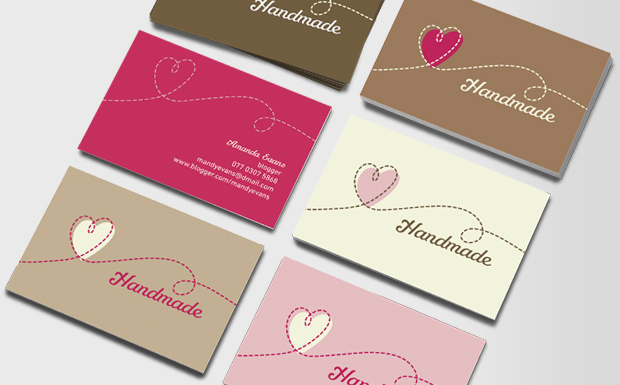 Handmade Business Cards — Crafthubs