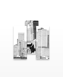 Designs de MiniCards - Skyscrapers