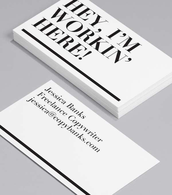 Business Card designs - Workin' here!