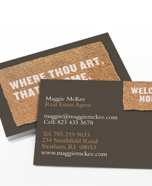 Preview image of Business Card design 'Door Mats'