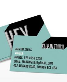 Preview image of Business Card design 'Hello There'