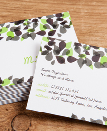 Preview image of Business Card design 'Mary Fiore'