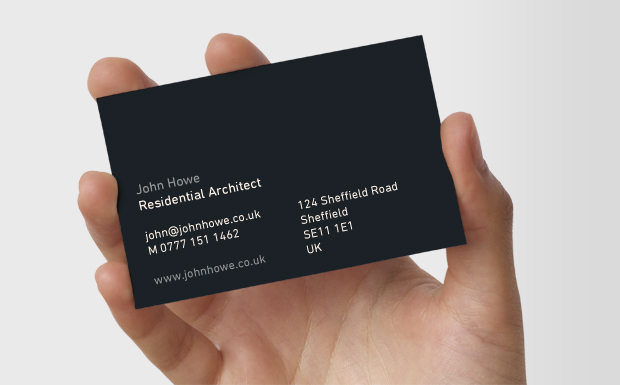 real estate business cards ideas. Double-sided Business Cards