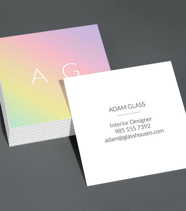 Browse square business card design templates moo united states initially reheart Images