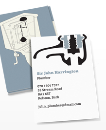 Designs de Cartes de Visite - Technical Plumber