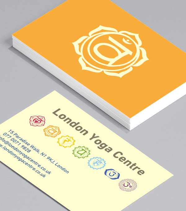 Business Card designs - Chakras