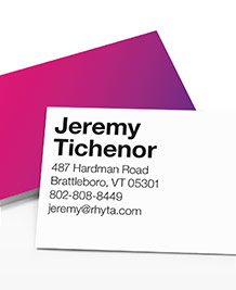 Preview image of Business Card design 'All About Ombre'