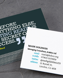 Business Card designs - You can quote me 3
