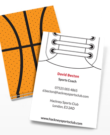 Preview image of Business Card design 'Sports Illustrated'