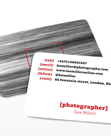 Preview image of Business Card design 'Motion Capture'