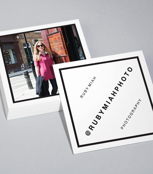 Photography business cards moo choice image card design and card square photography business cards image collections card design photography business cards moo image collections card design reheart Images