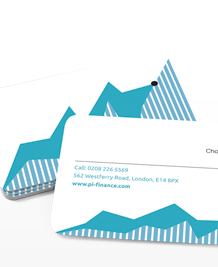 Preview image of Business Card design 'Hard Graph'