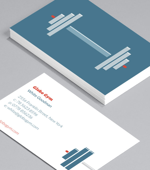 Business Card designs - Pumping Iron