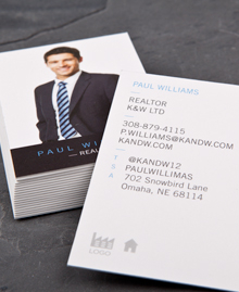 Preview image of Business Card design 'Home From Home'