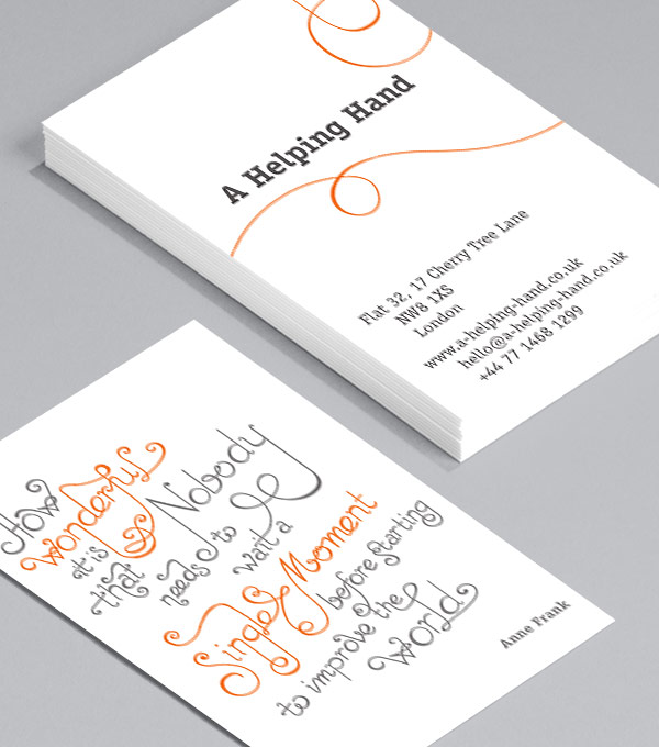 Business Card designs - Tied Together