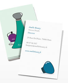 Preview image of Business Card design 'Eau de Parfum'
