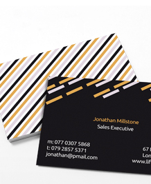 Preview image of Business Card design 'Must Dash'