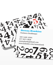Preview image of Business Card design 'Odd One Out'