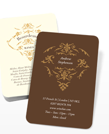 Preview image of Business Card design 'Wines of the World'