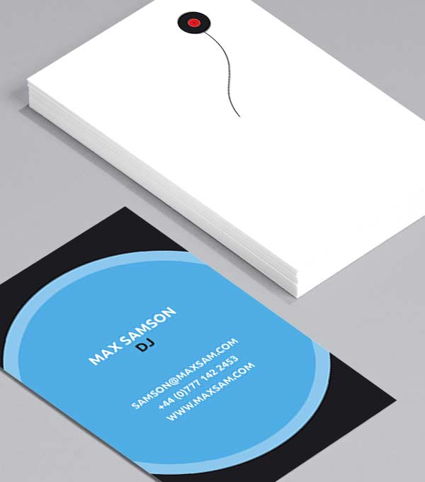 Business Card designs - Bunch of Records