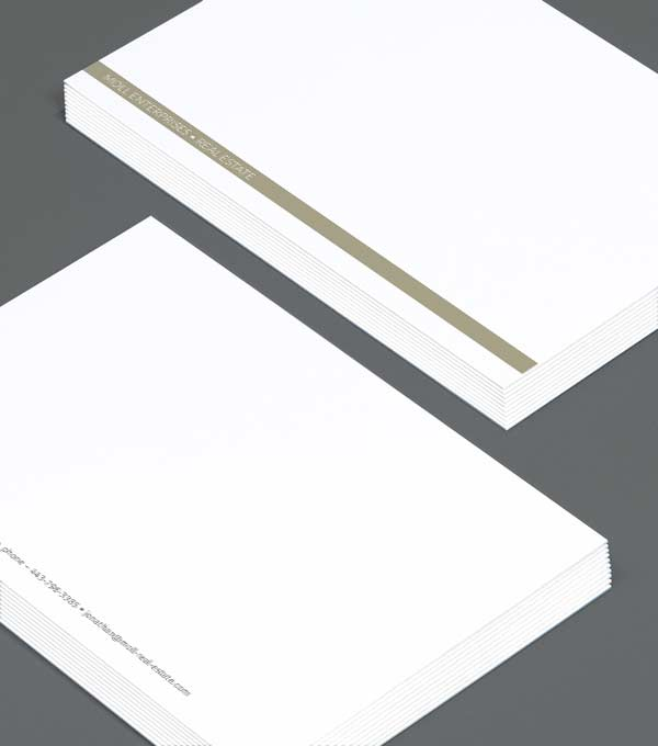 Notecard designs - Gold Standard