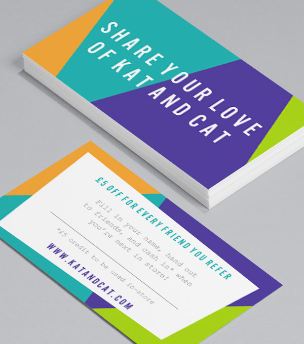 Business Card designs - Throw Some Shapes