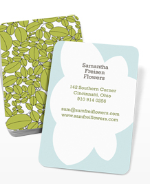 Preview image of Business Card design 'Melissa Crowley'