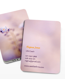 Preview image of Business Card design 'Nature Delight'