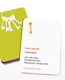 Preview image of Business Card design 'Keys for change'