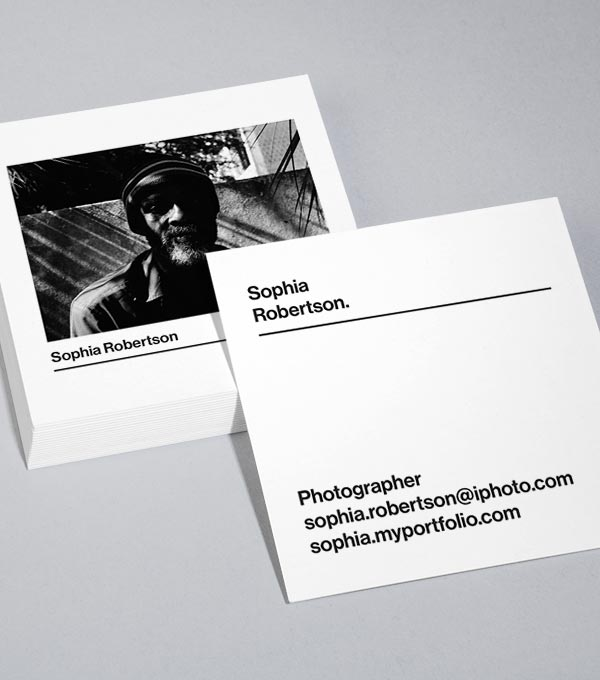 Square Business Card designs - Framework