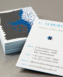 Preview image of Business Card design 'Geometricks'