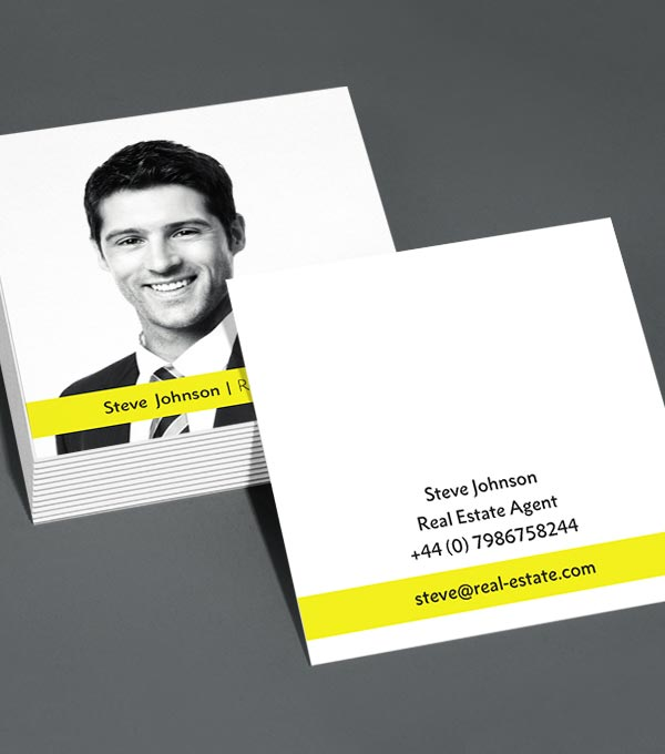 Square Business Card designs - Special Agents