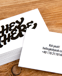 Preview image of Business Card design 'Greetings & Salutations'