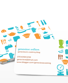 Preview image of Business Card design 'Lara Cameron'