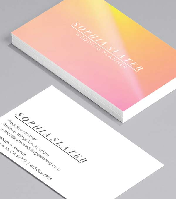 Business Card designs - Slater