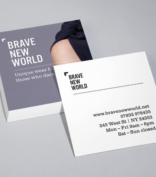 Browse Square Business Card Design Templates MOO United States - Business cards examples templates