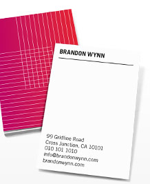 Business Card designs - On the Grid