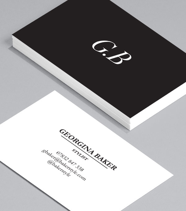 Browse business card design templates moo united states sharp contrast reheart