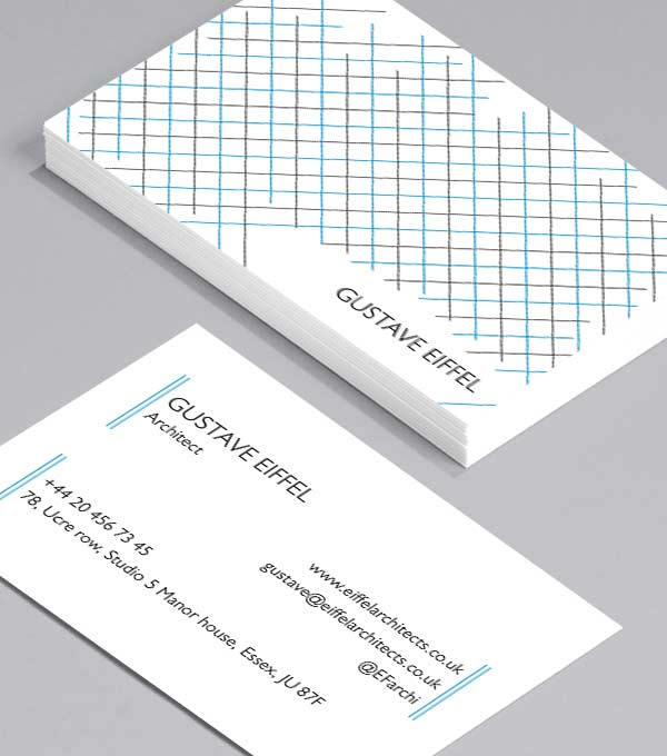 Business Card designs - Gustave Eiffel