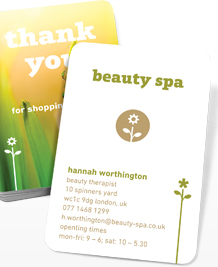 Preview image of Business Card design 'Beauty Salon'