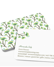 Preview image of Business Card design 'Fabulous Florals'