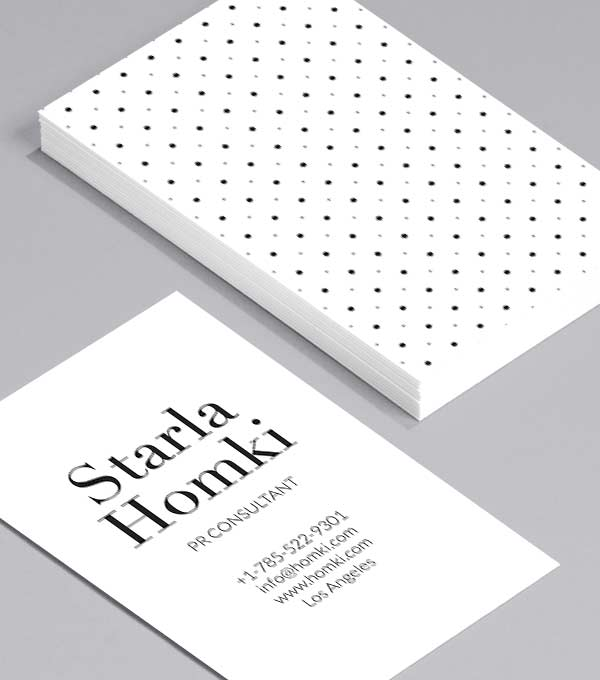 Business Card designs - Dot Luck