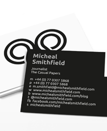 Preview image of Business Card design 'Simply Logo'