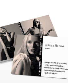 Business Card designs - Contact Sheet